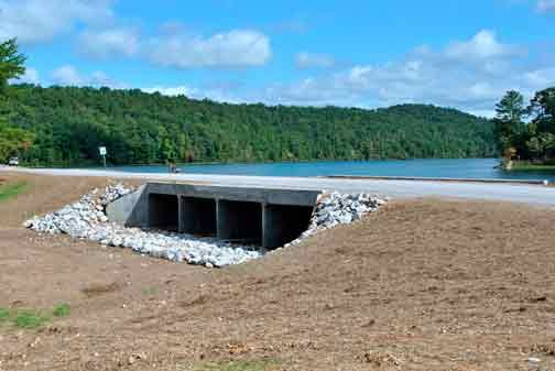 Oak Mountain Spillway renovated