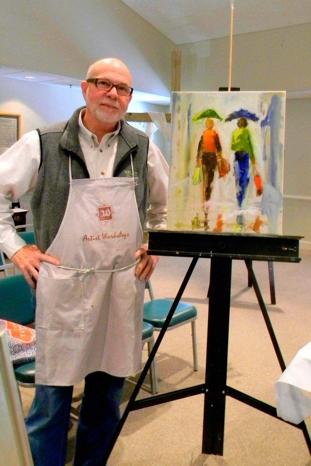 Artist David Nichols
