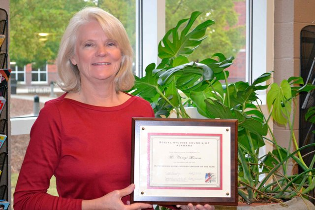 SPHS Social Studies Teacher of the Year 2013