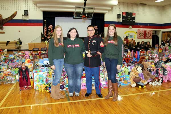 OMMS toys for tots Grimes