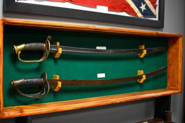 Greystone museum Confederate swords