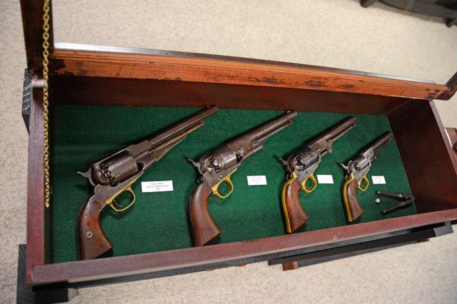 Greystone museum pistols