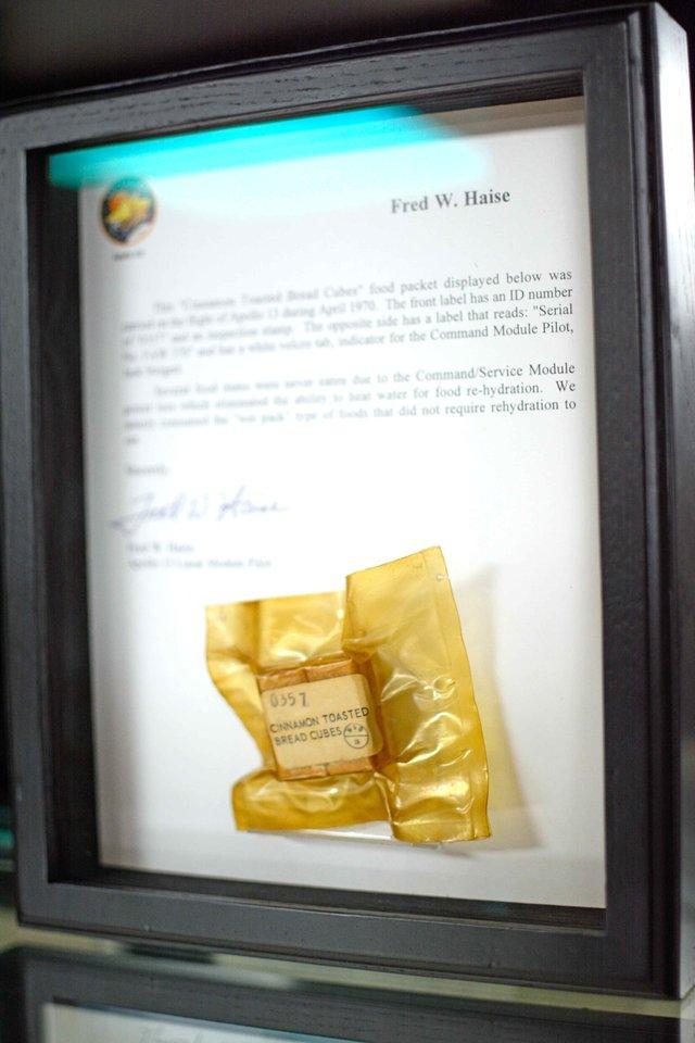 Greystone museum Apollo 13 food
