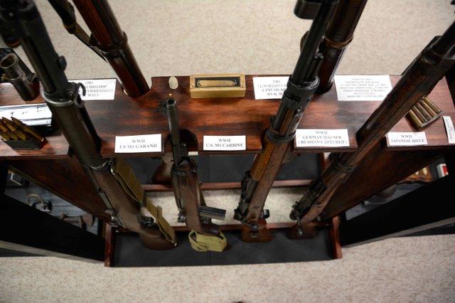 Greystone museum rifles