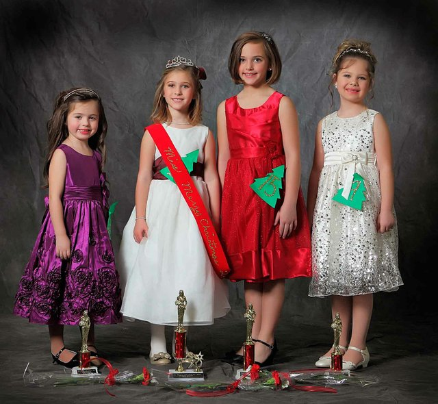 Miss Merry Christmas 2013 5K to second grade