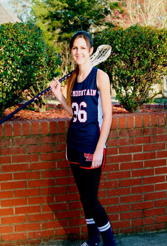 OMHS Brittni Jones lacrosse