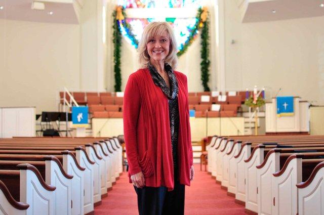 Asbury United Methodist Music Director Nancy Beard.
