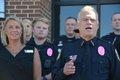 Hoover pink badges 4