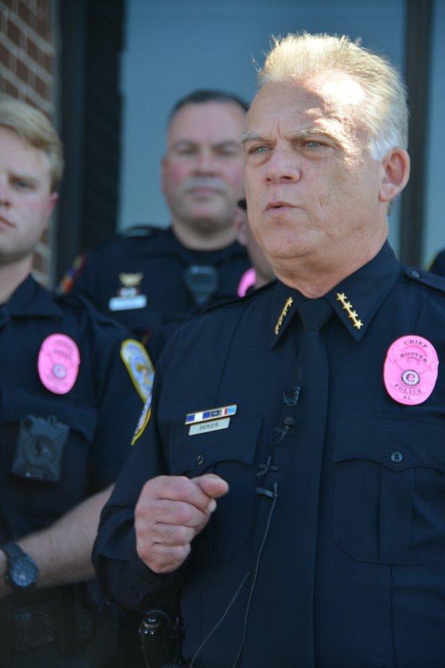 Hoover pink badges 5