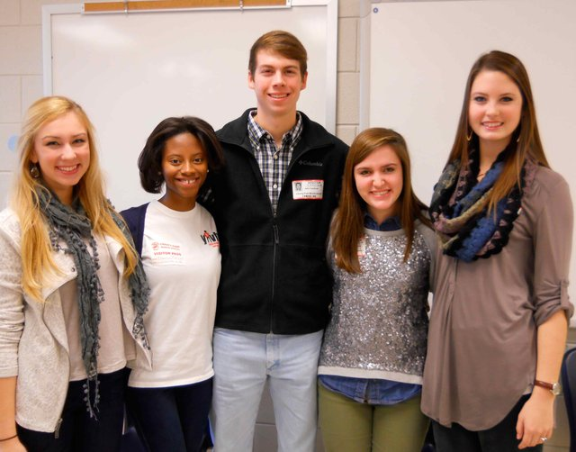 Students selected for the VHHS Youth Leadership Group
