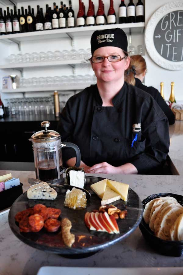 Primeaux cheese monger Christie Roach