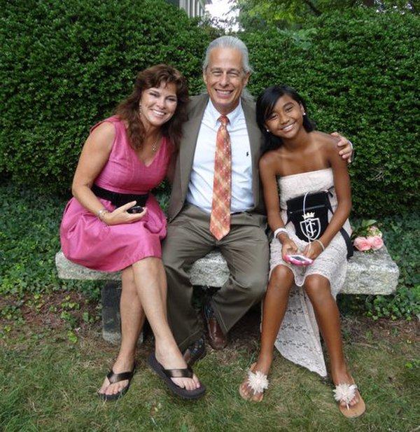 Steve, Pam and Shauna Moore