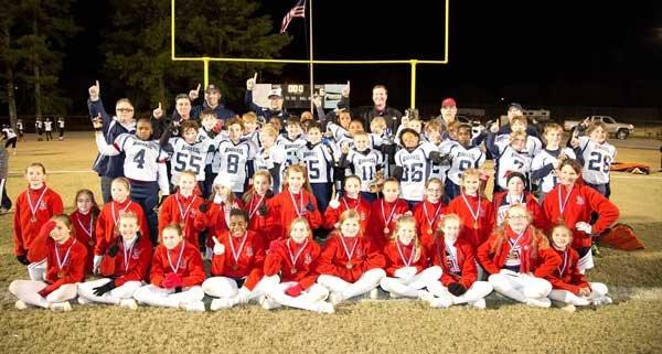 2013 OMYFC football and cheer